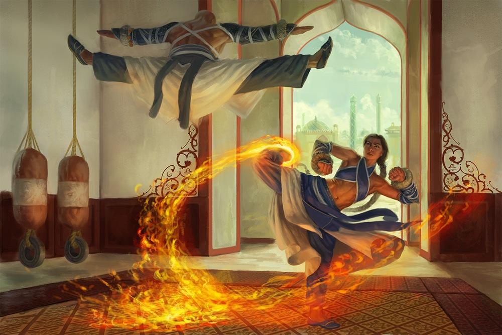 monkfight