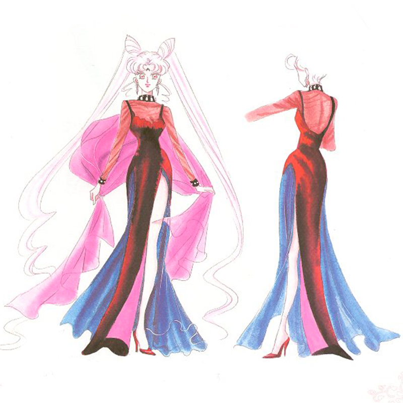 the black lady sailor moon concept art
