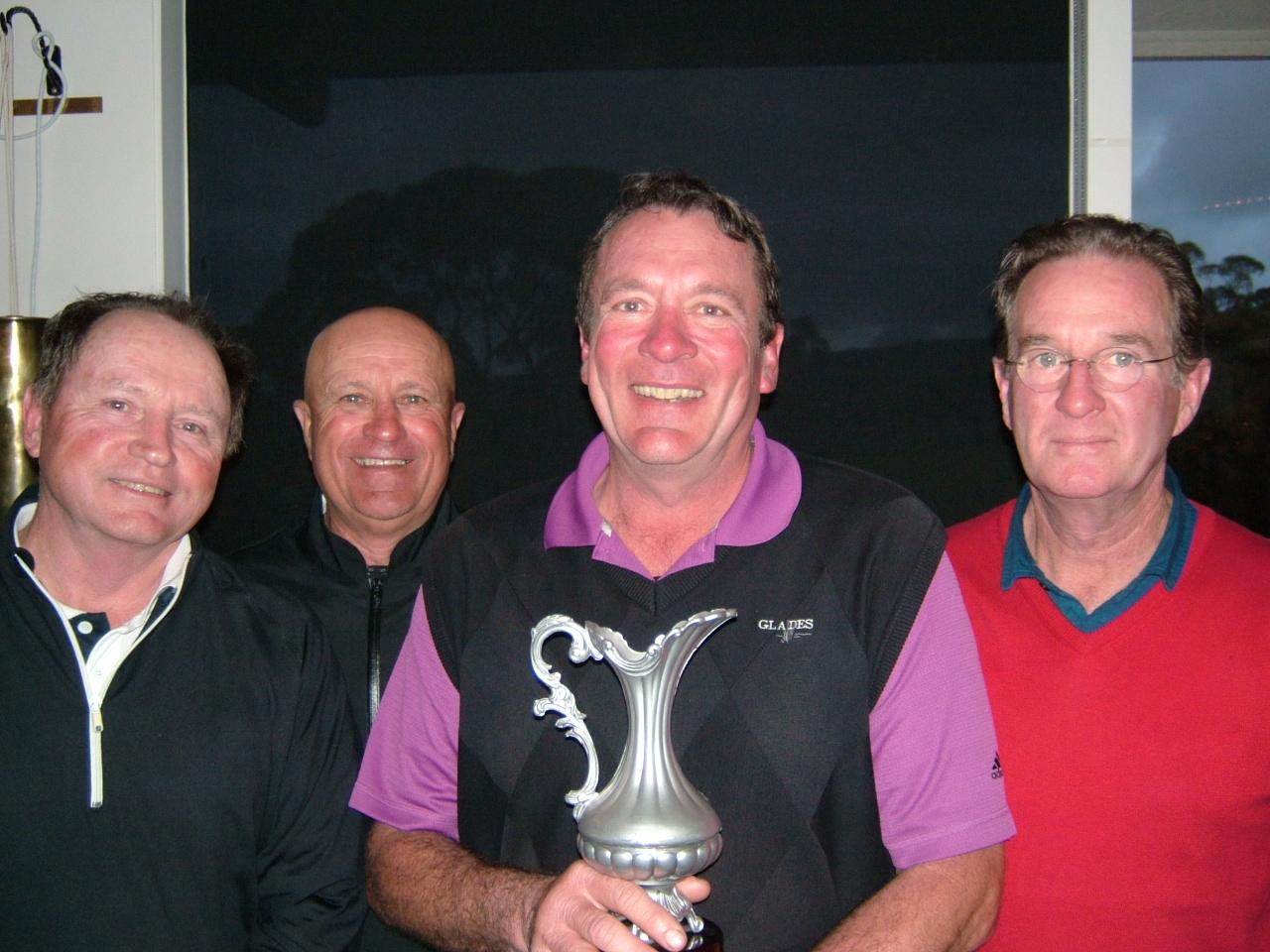 Winners from Victor Motors & Auto Gas (L-R A. TAPP, J. GRIFFEN, L. DRUMMOND, K. TAYLOR).