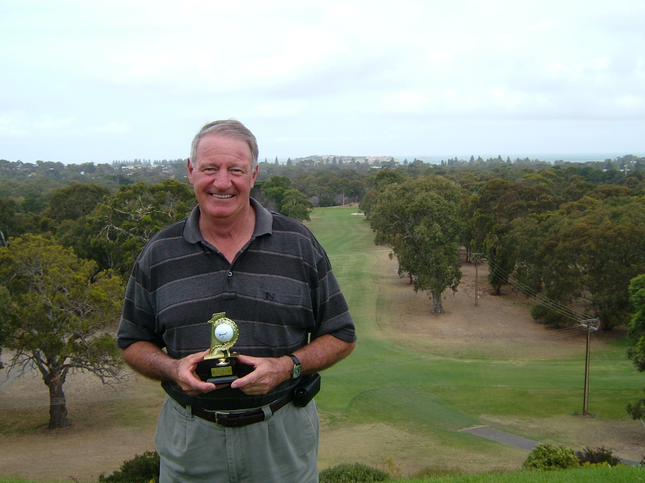 Rob Gasmier. Hole in One on the 7th Hole 27.11.2014