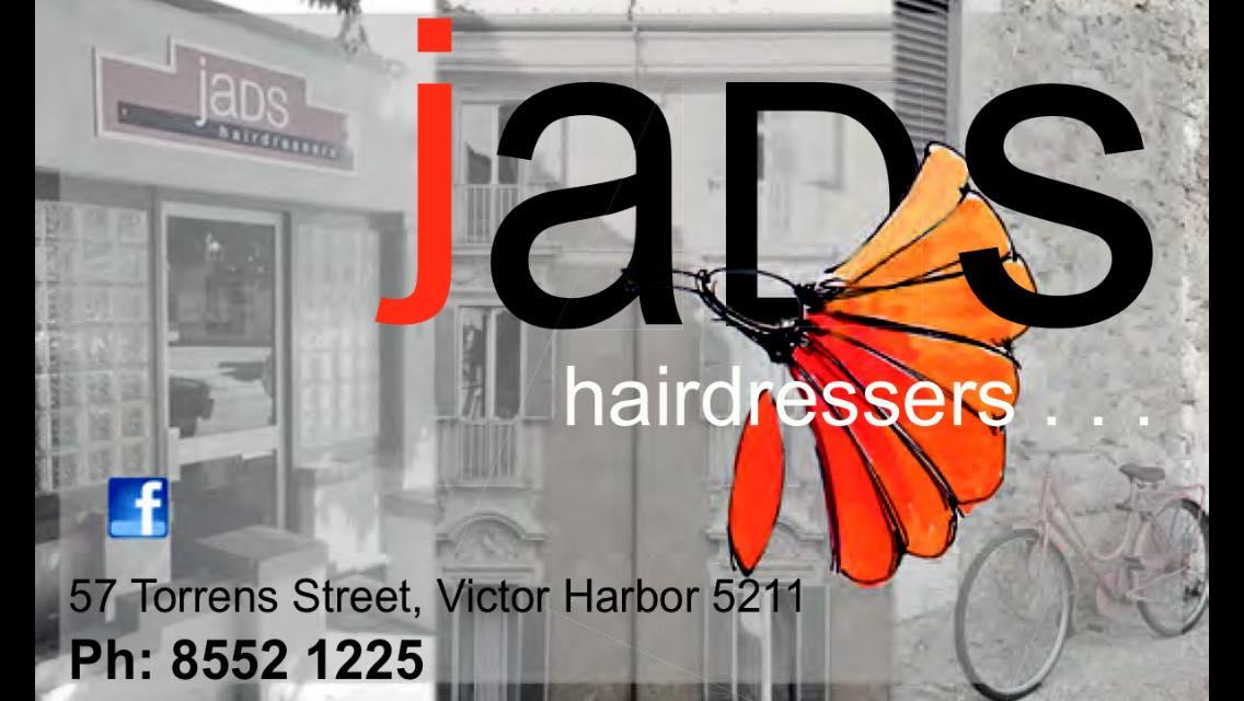 Sponsored by JaDS hairdressers, Victor Harbor