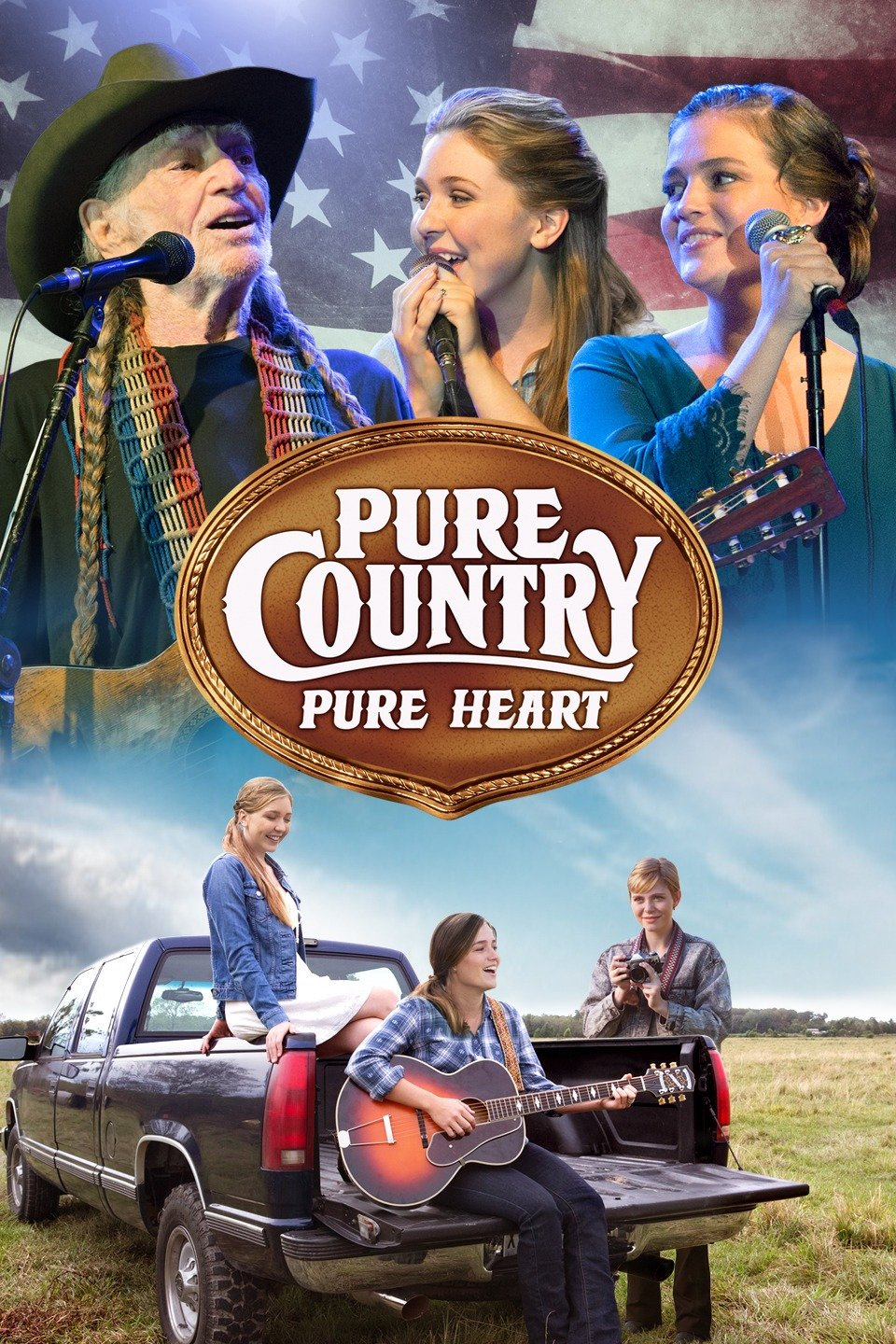 Dara stars in Warner Brothers' Pure Country Pure Heart as Justine Sloan alongside Cozi Zuehlsdorff, Kaitlyn Bausch, Laura Bell Bundy, Ronny Cox, and Willie Nelson.