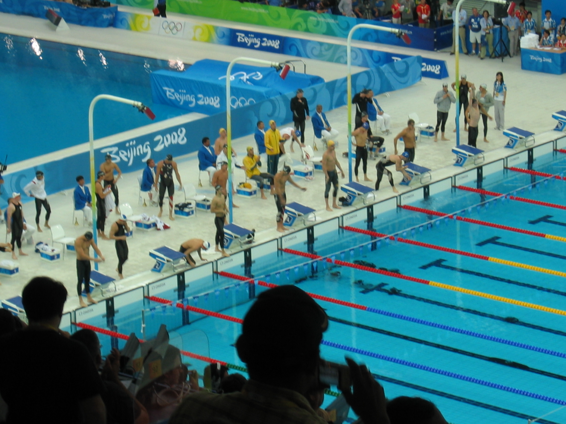 The most exciting race I've covered in Olympic swimming