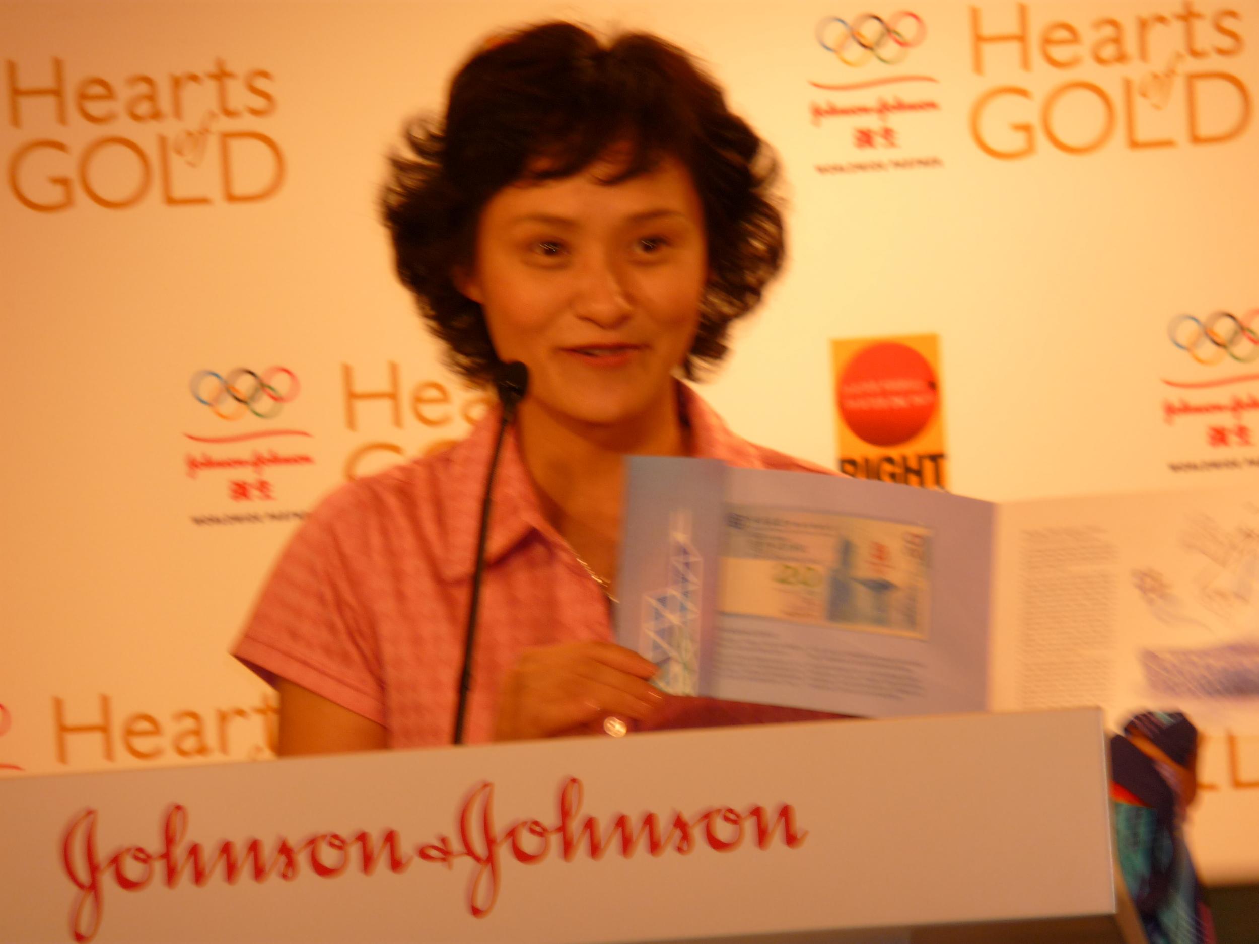 Gao Min, a diving legend
