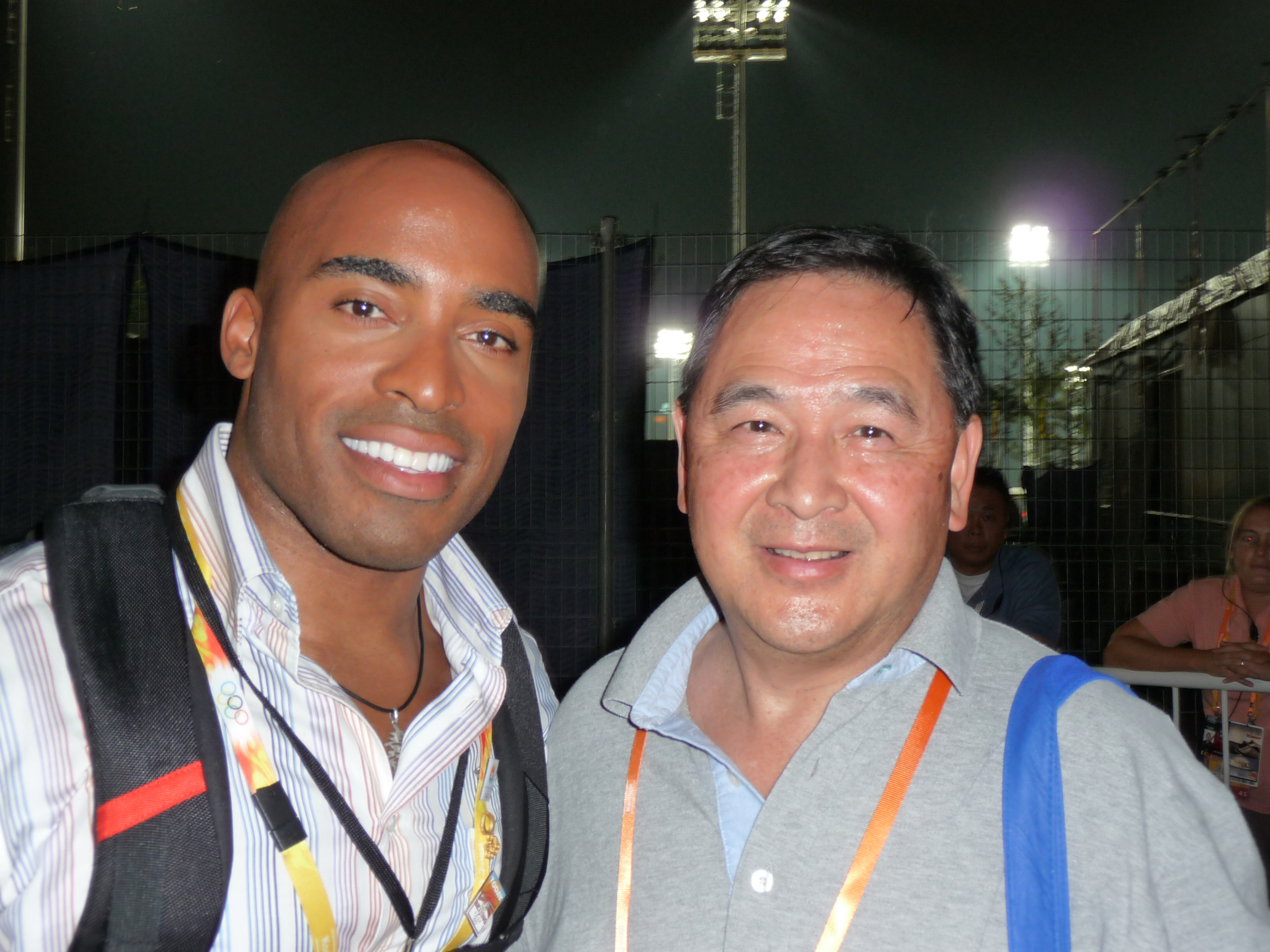 The NFL and NBC in Beijing