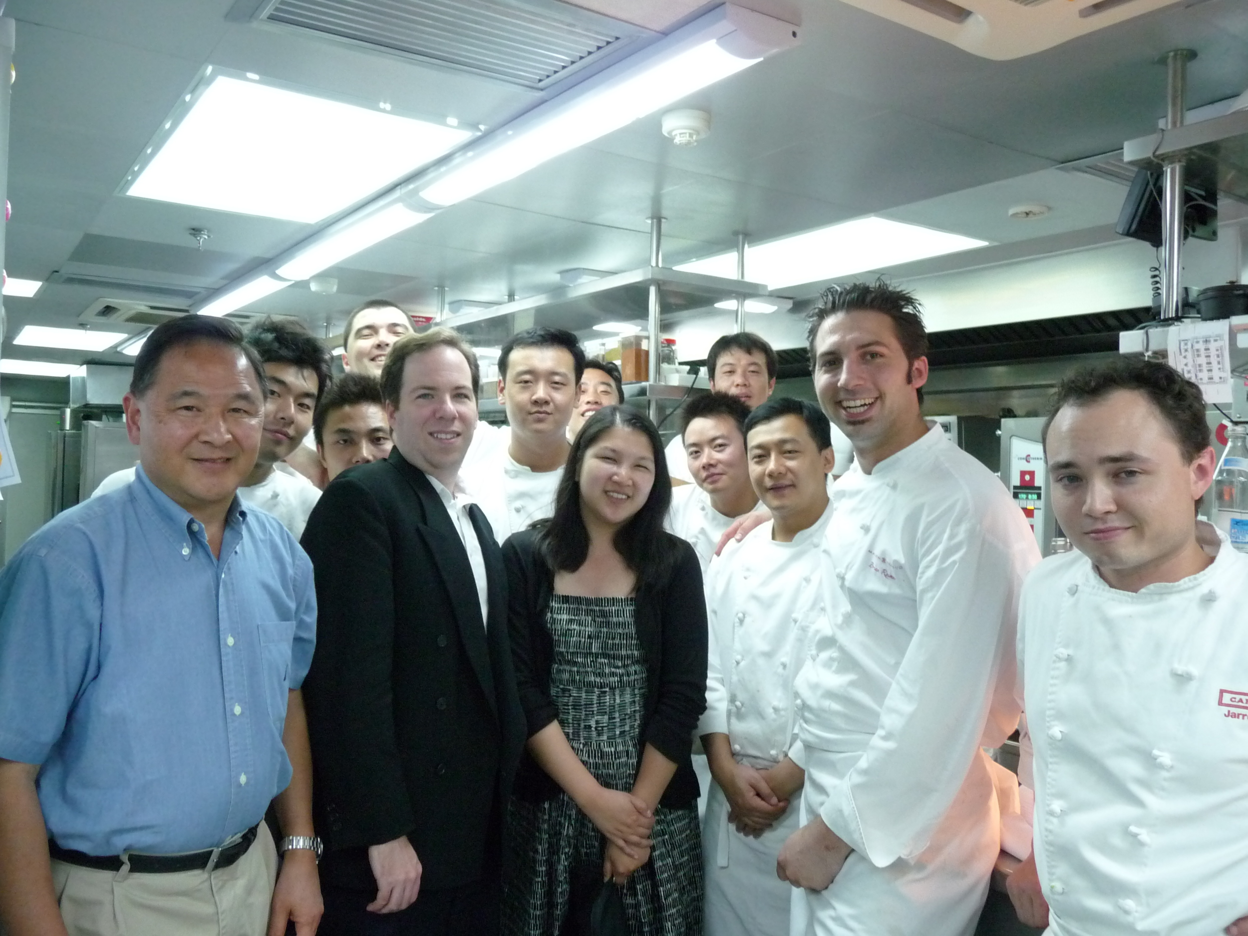 Guests at the Maison Boulud