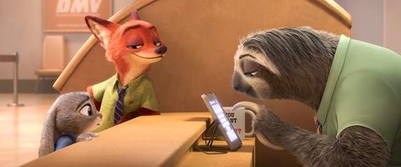 Zootopia, sloth trailer