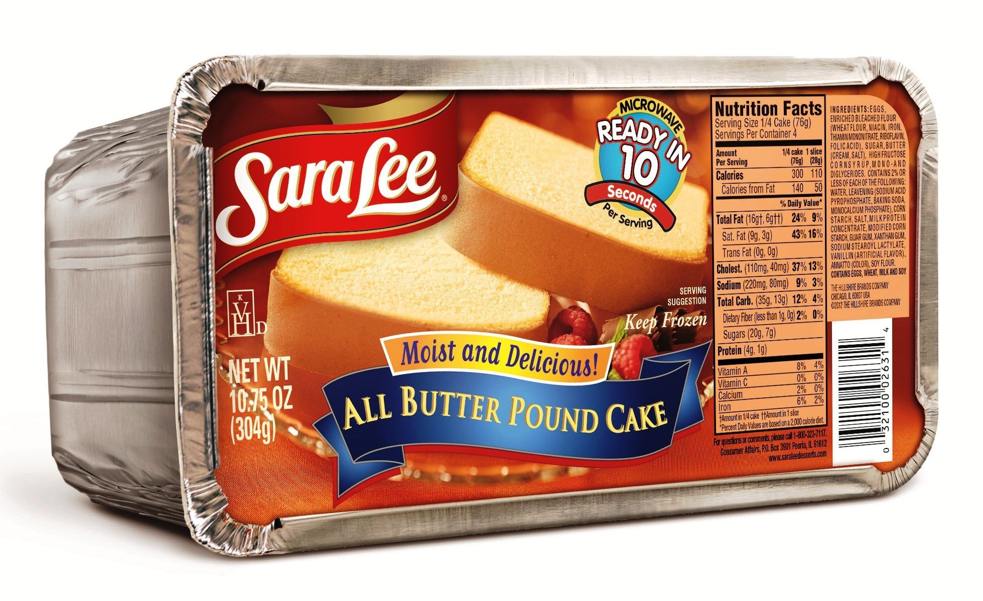 Sara Lee Butter Pound Cake