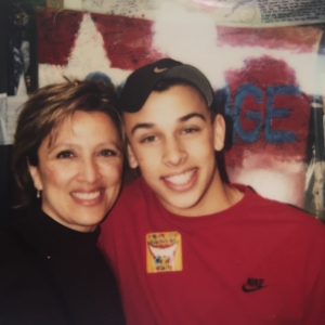 The day he got his braces off- 2002-8th grade.