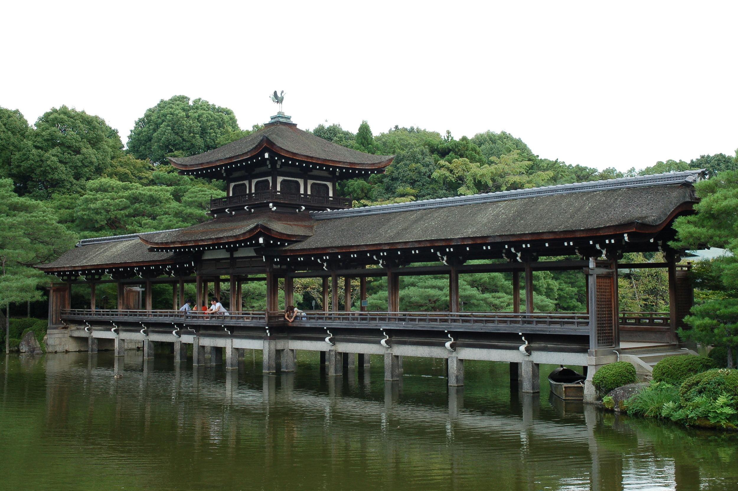 Heian Shrine Bridge