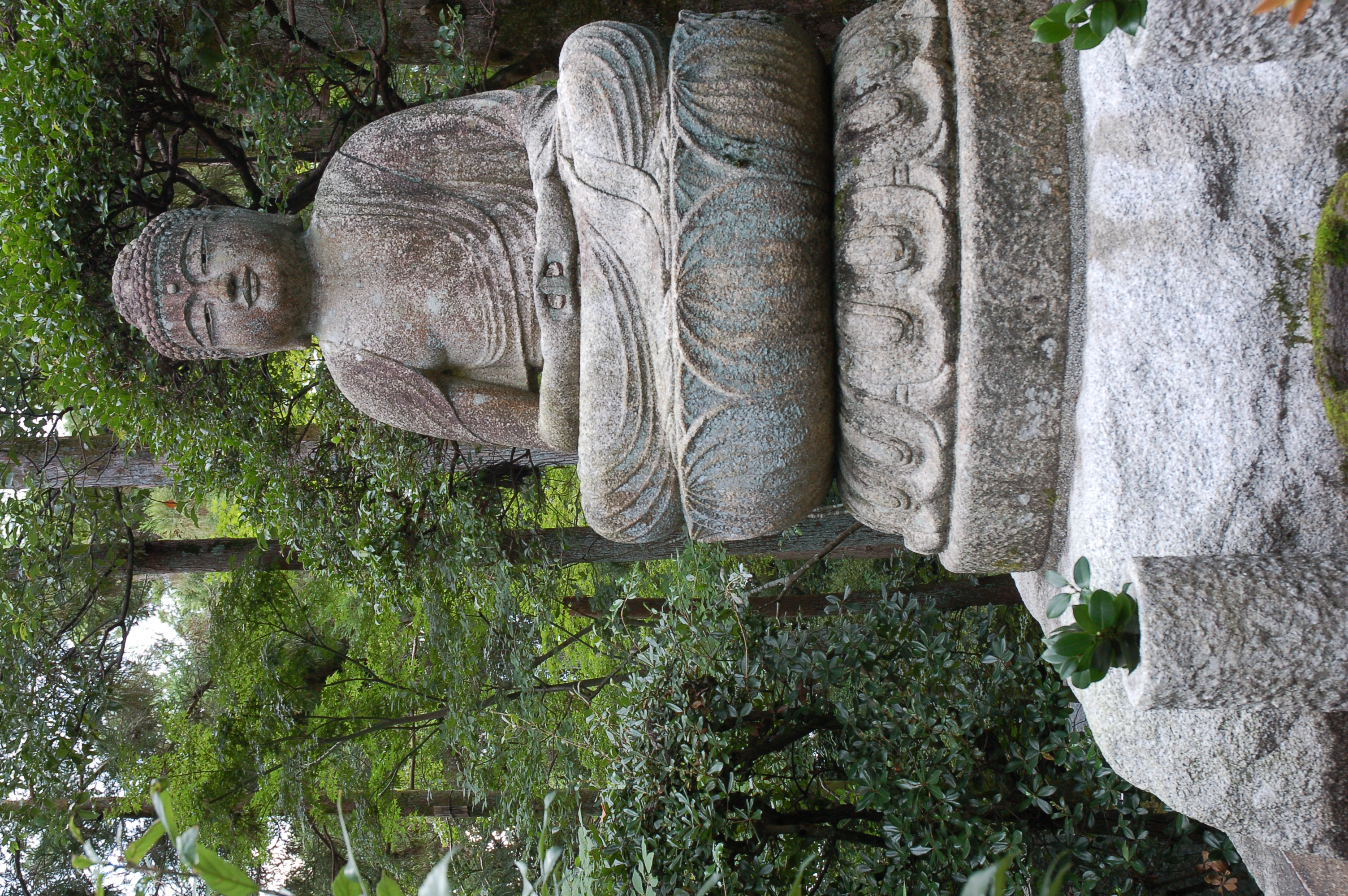 Buddha at Ryoanji Temple
