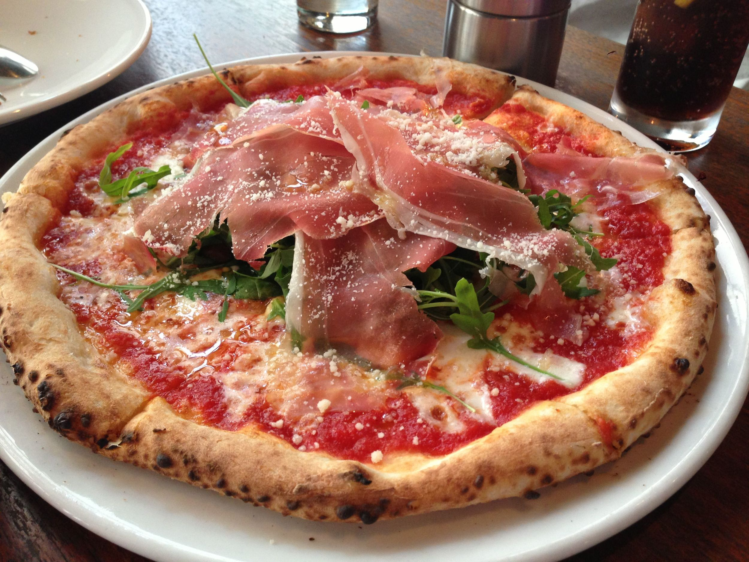 Prosciutto e Rucola Pizza