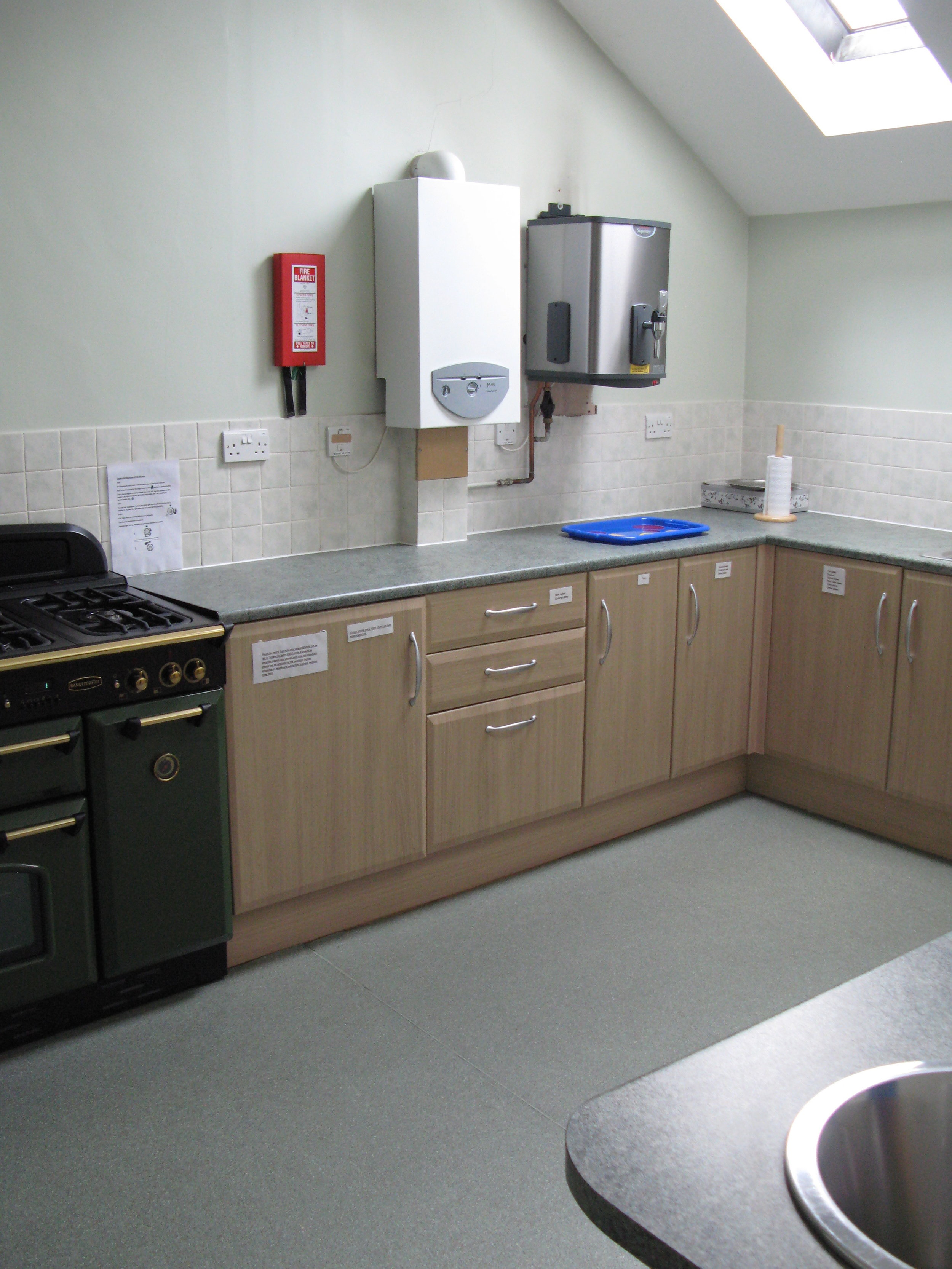 Upper Hall Kitchen