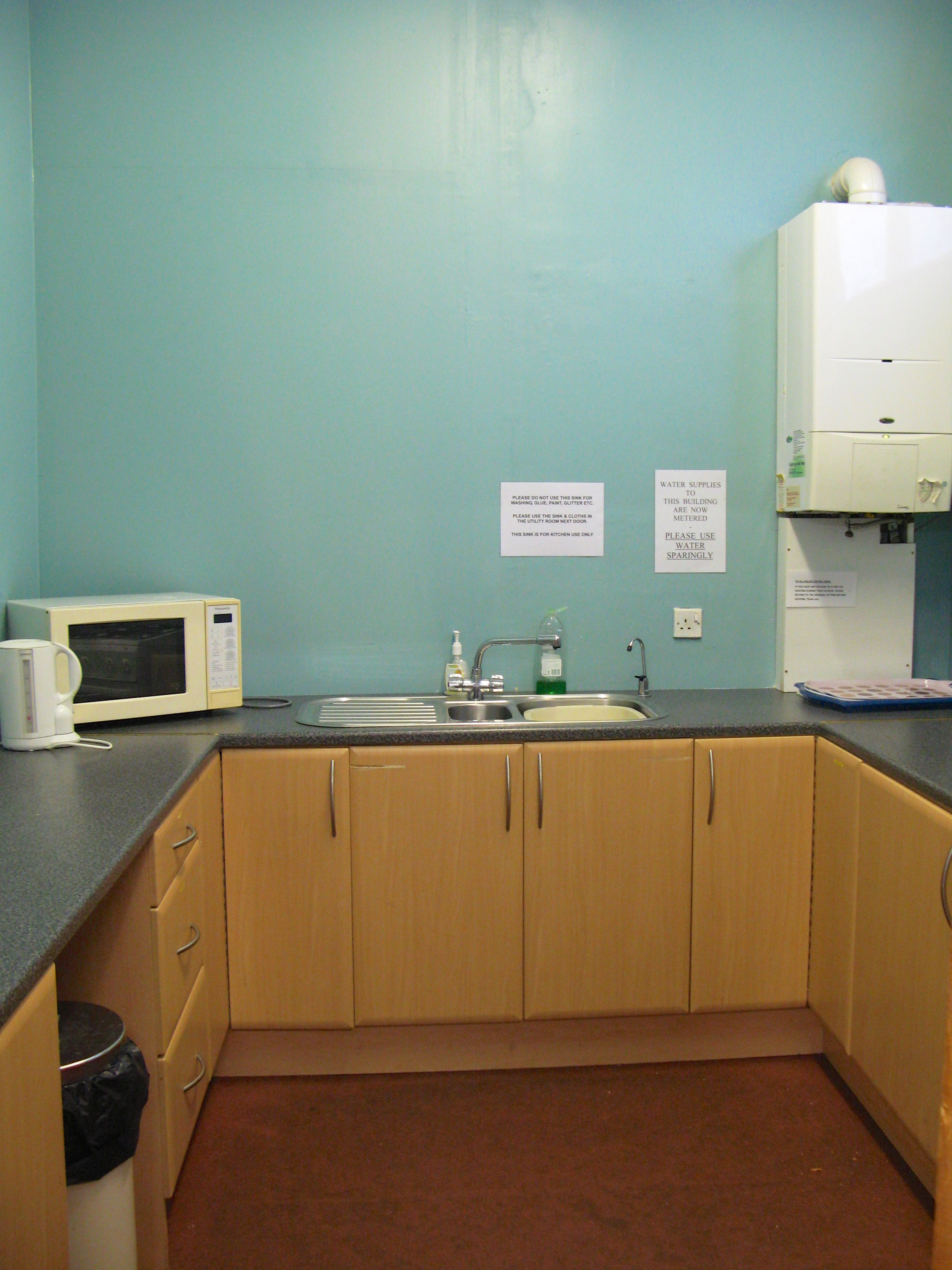 Miller Youth Centre Kitchen