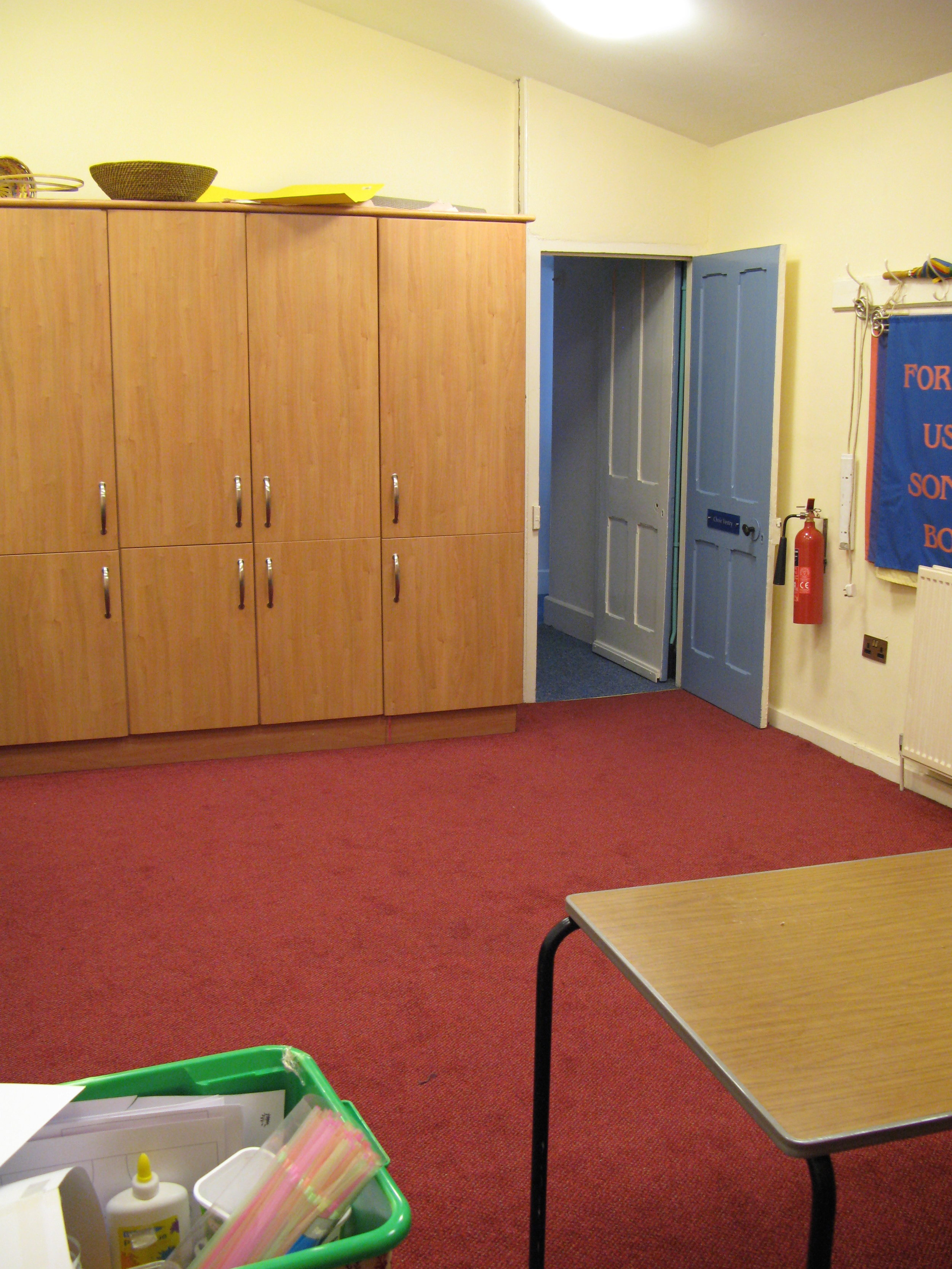 Choir Vestry (Green Room)
