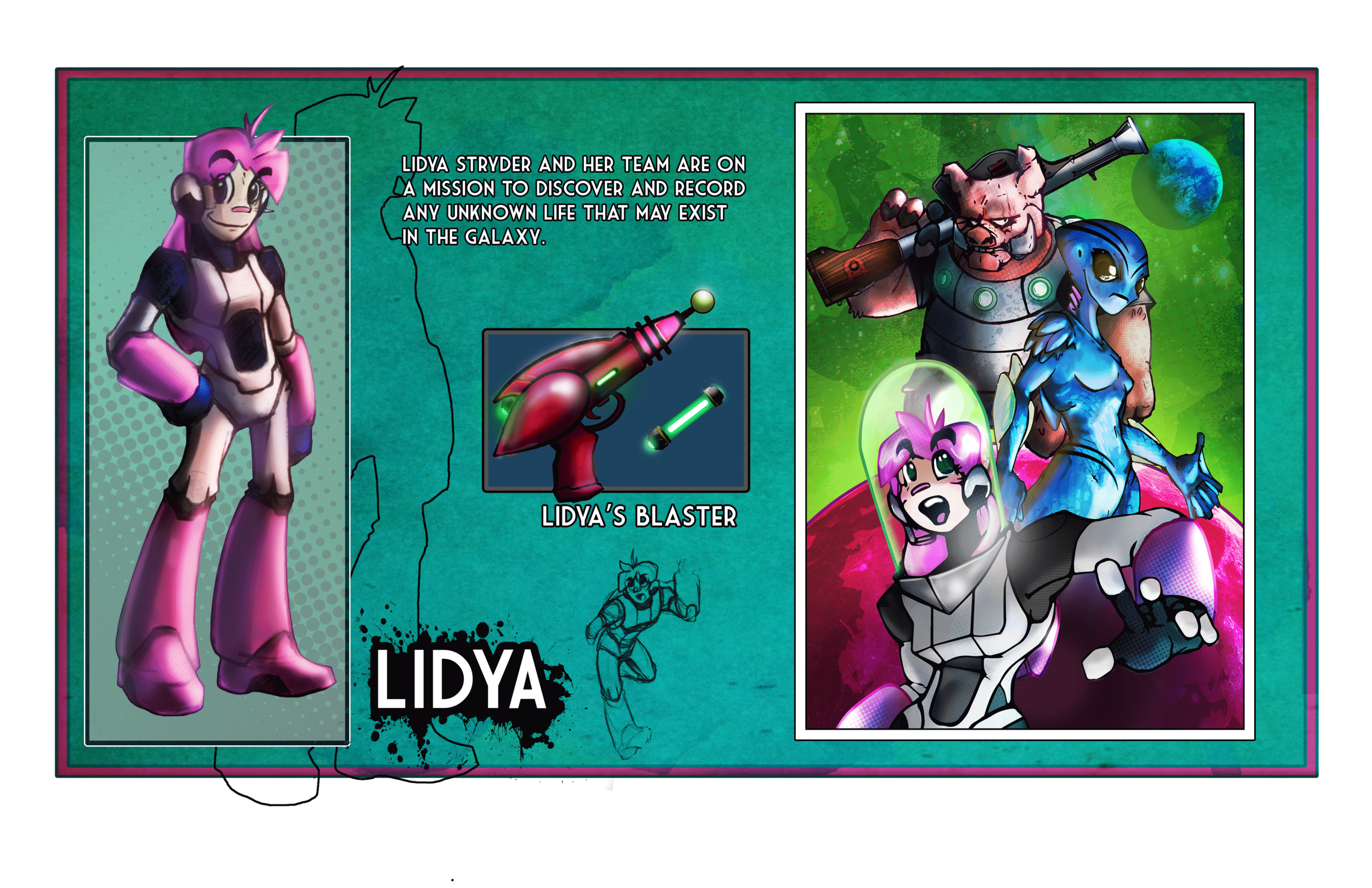 Space Adventurer, Lidya
