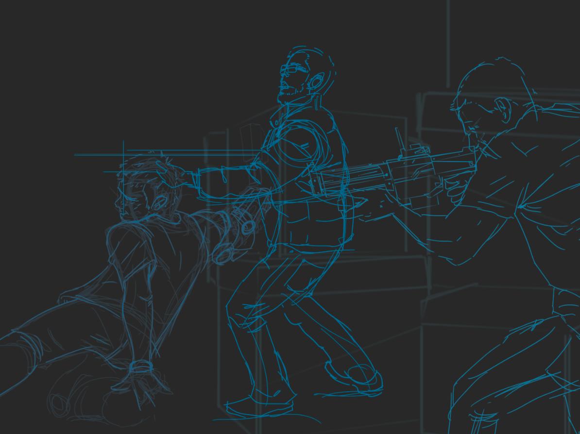 Nerf War Lines
