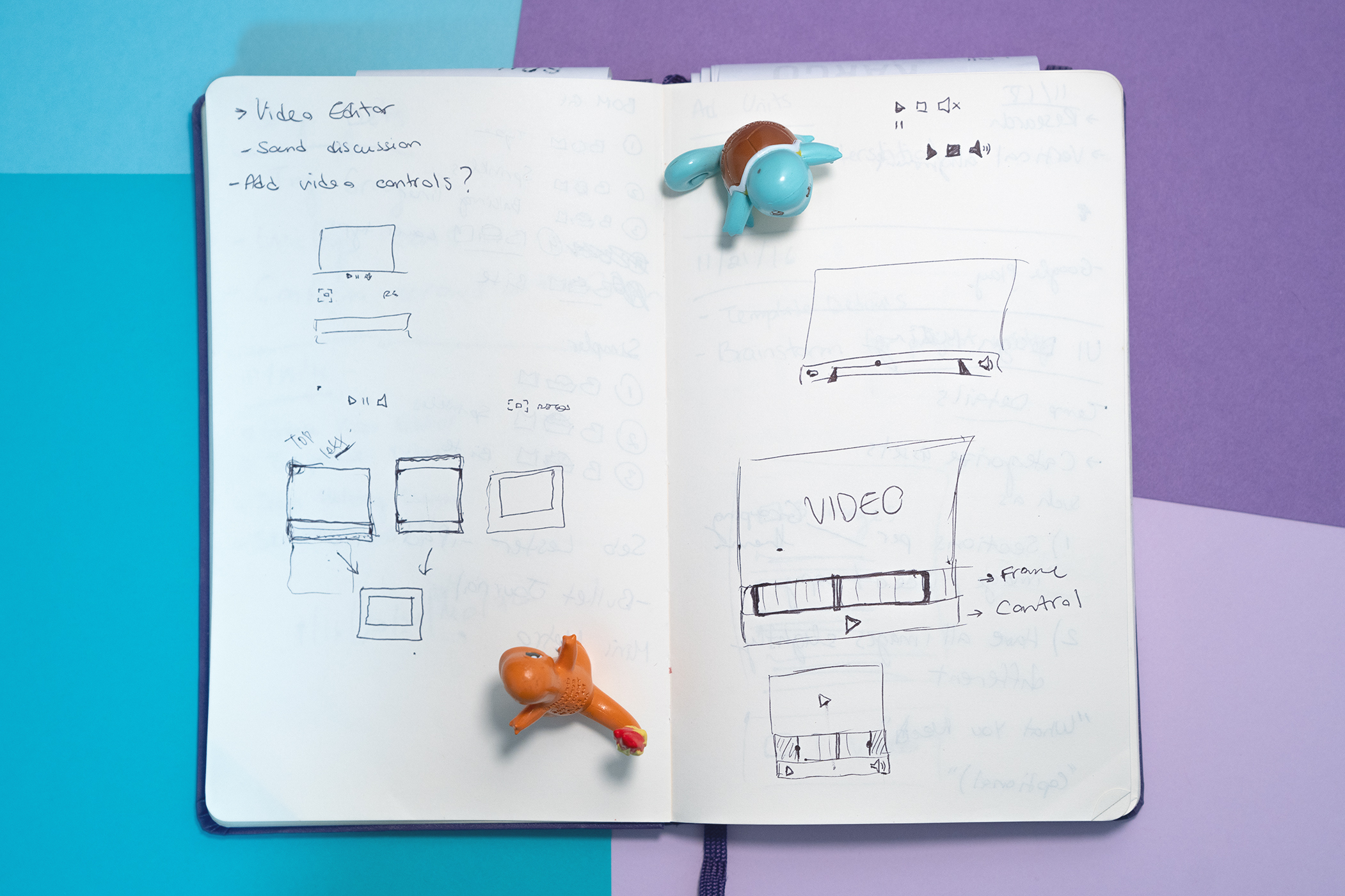 Sketches of interface ideas