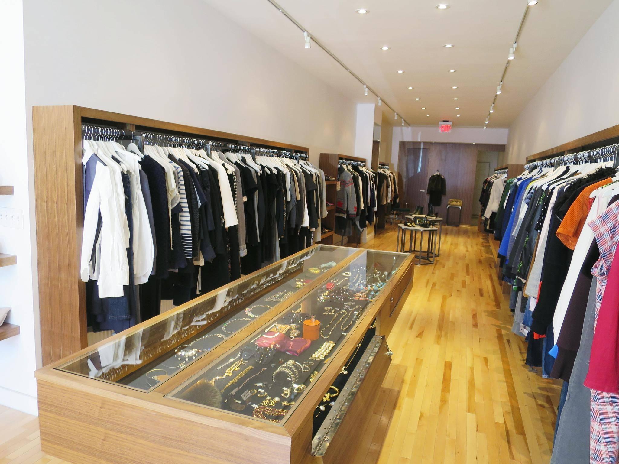 High-End Parisian thrift shop