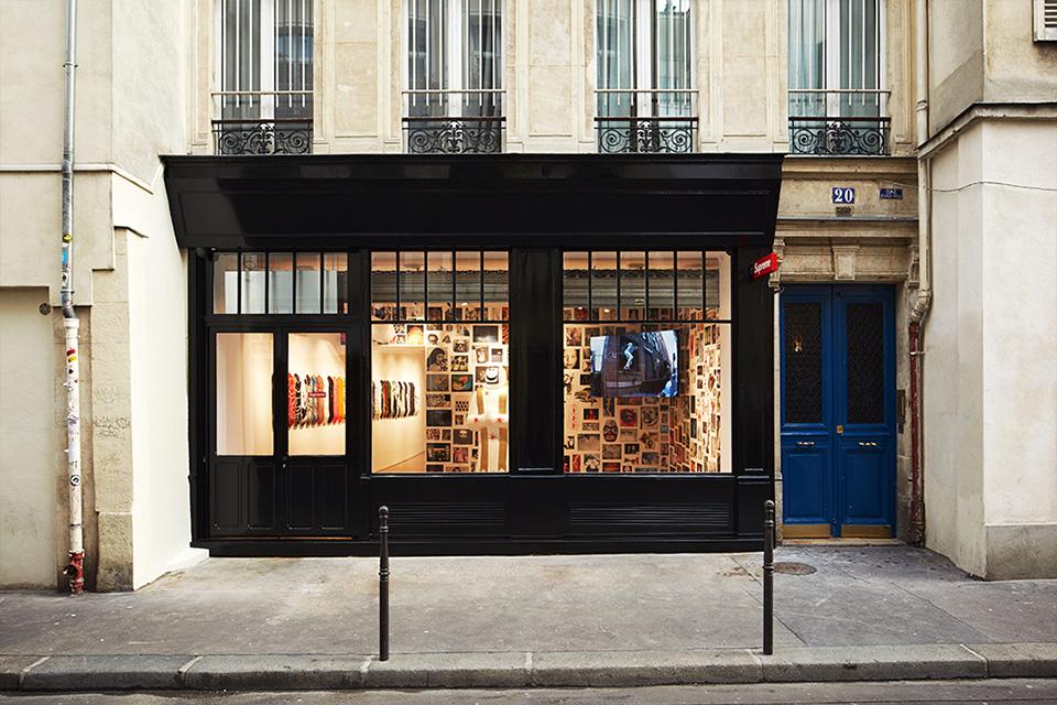 Supreme Paris Image via  Highsnobiety