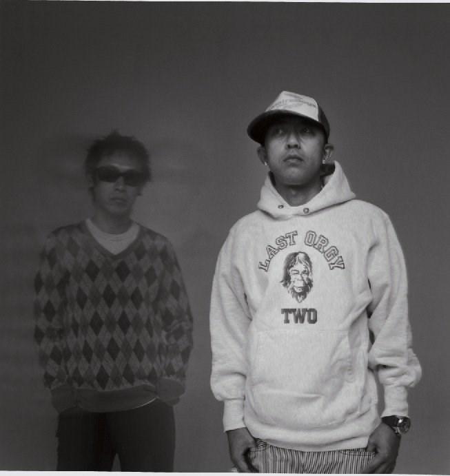 Jun Takahashi and Nigo of NOWHERE