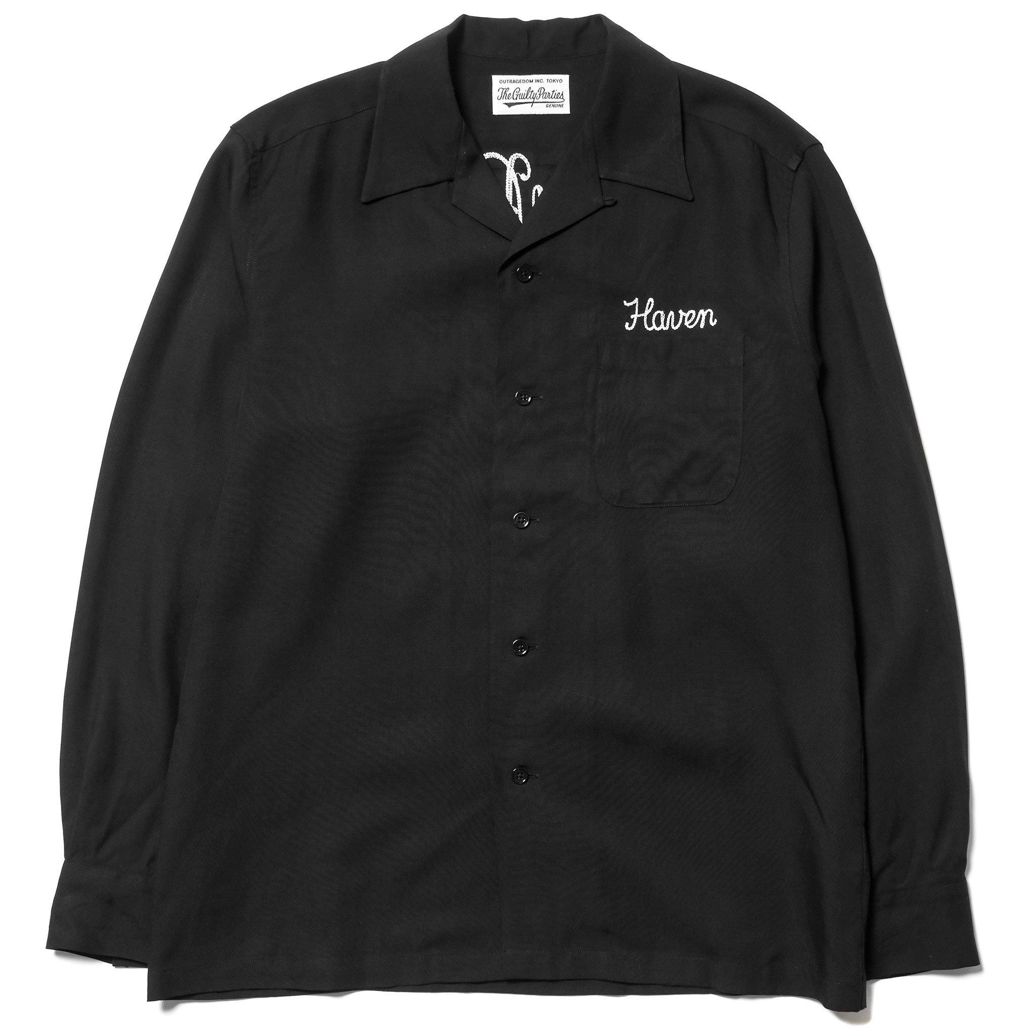 Wacko Maria x Haven 50's Open Collar Shirt