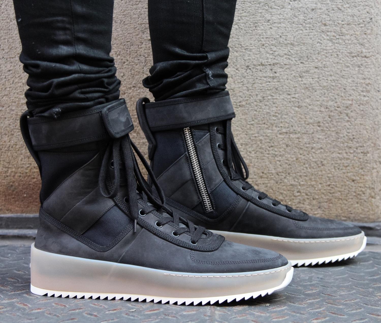 fear of god combat boots
