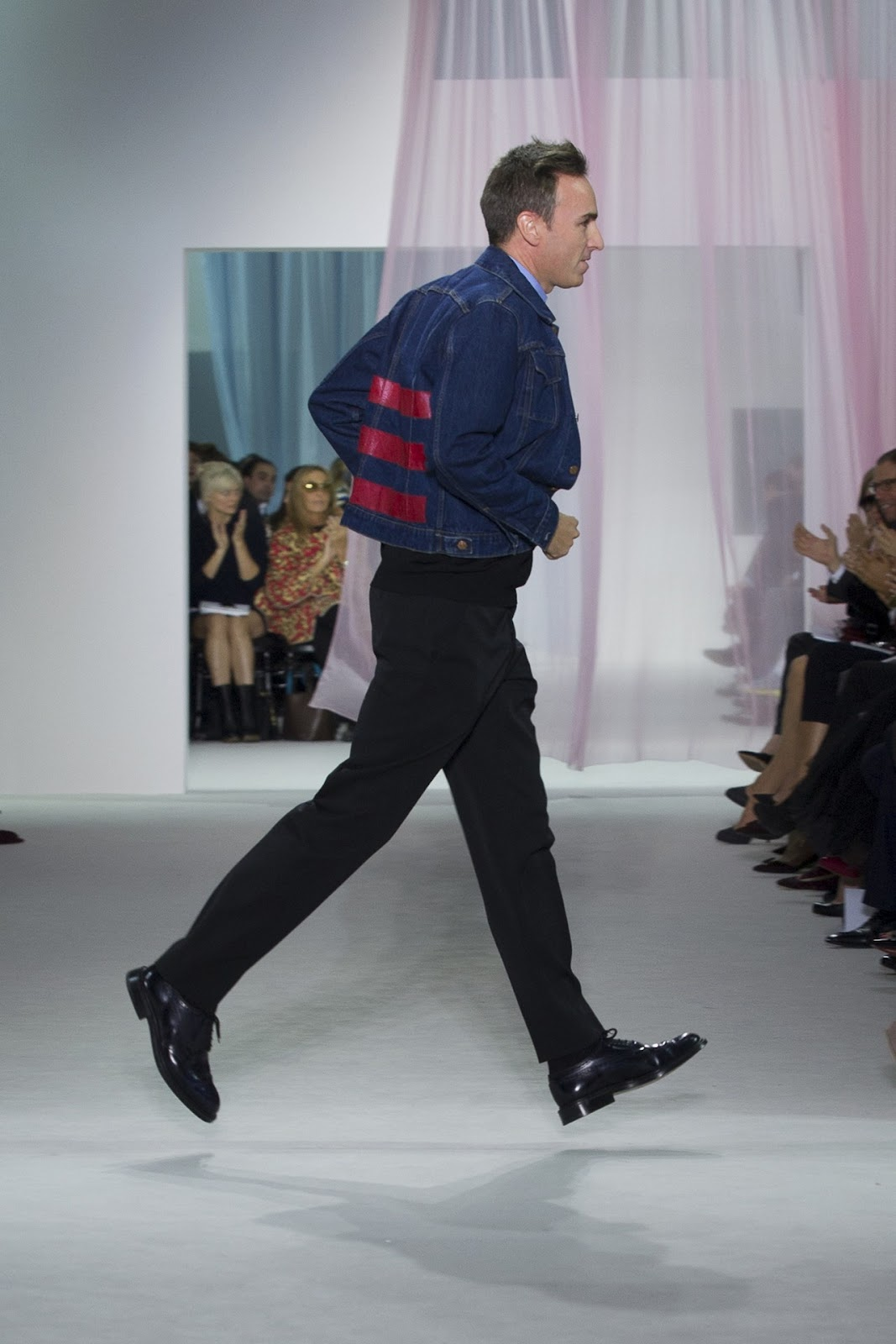Raf (after showing for Dior SS13)