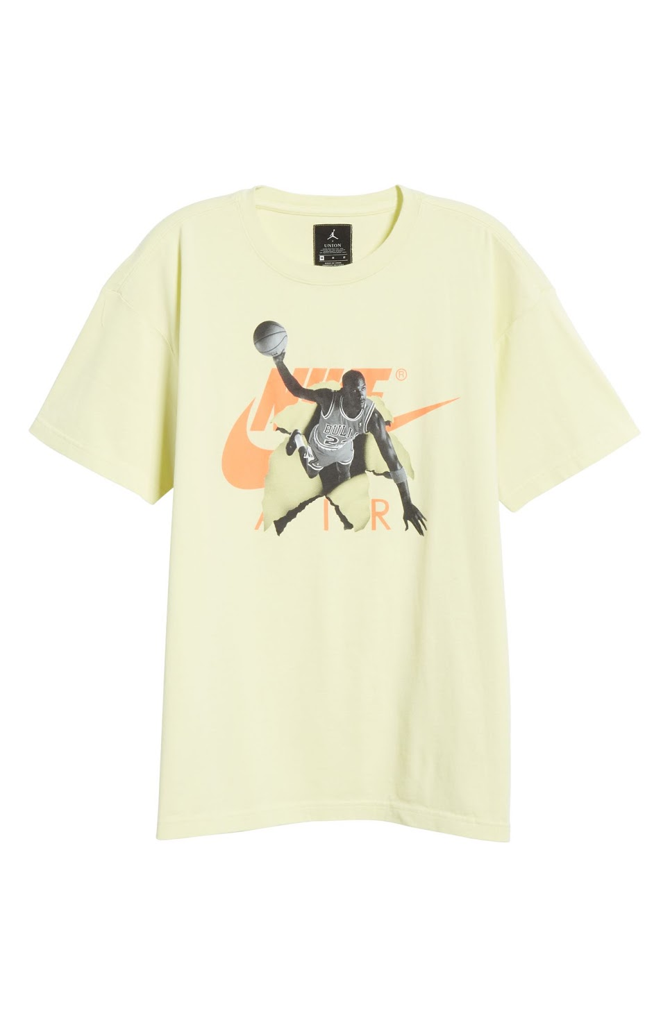 Jordan_Short Sleeve T-Shirt in Pale Yellow_$50 (2).jpeg
