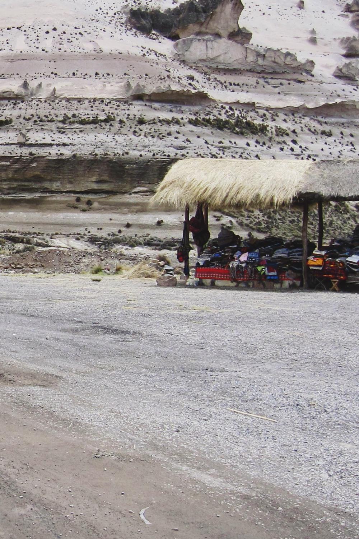 Admiring the geology of Patahuasi