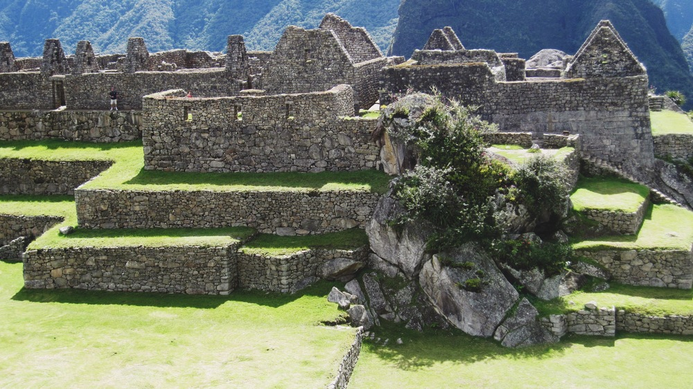 The ruins were stunning