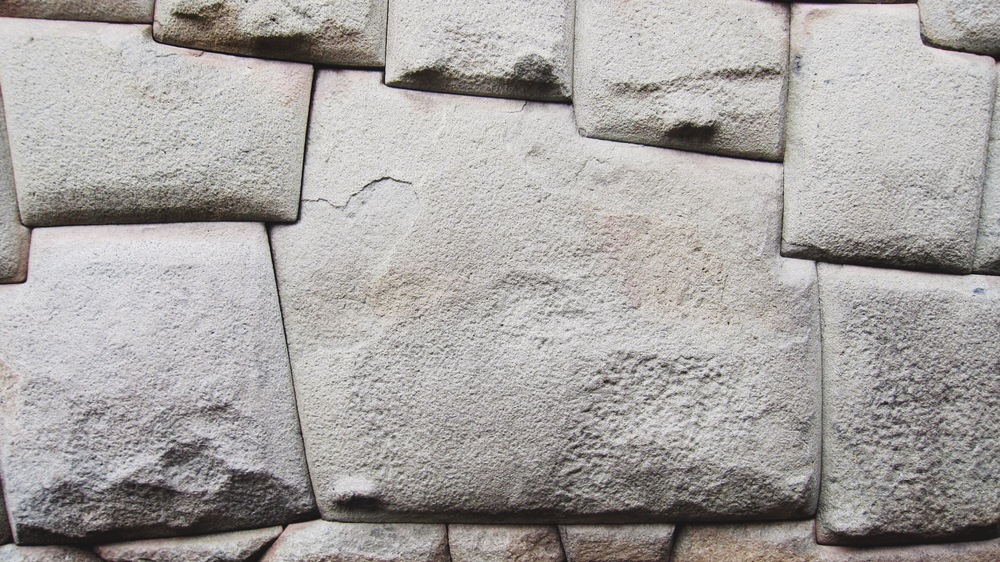 The famous twelve-angled stone. Each stone is hand shaped to lock perfectly with one another and make this wall