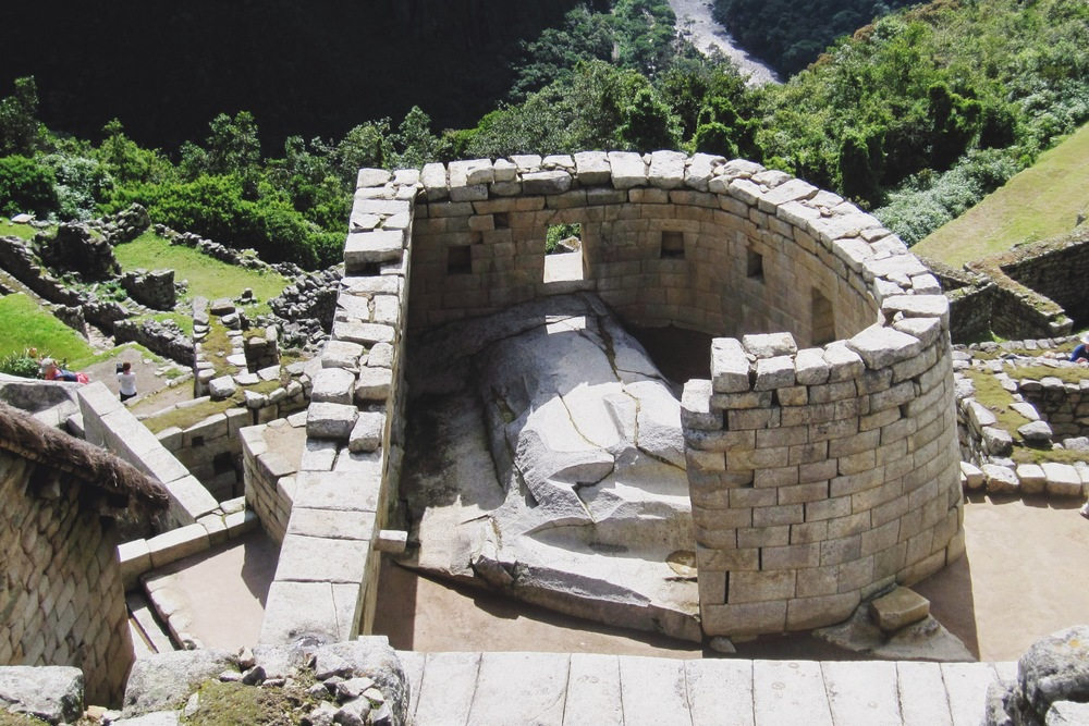 The Sun Temple form above