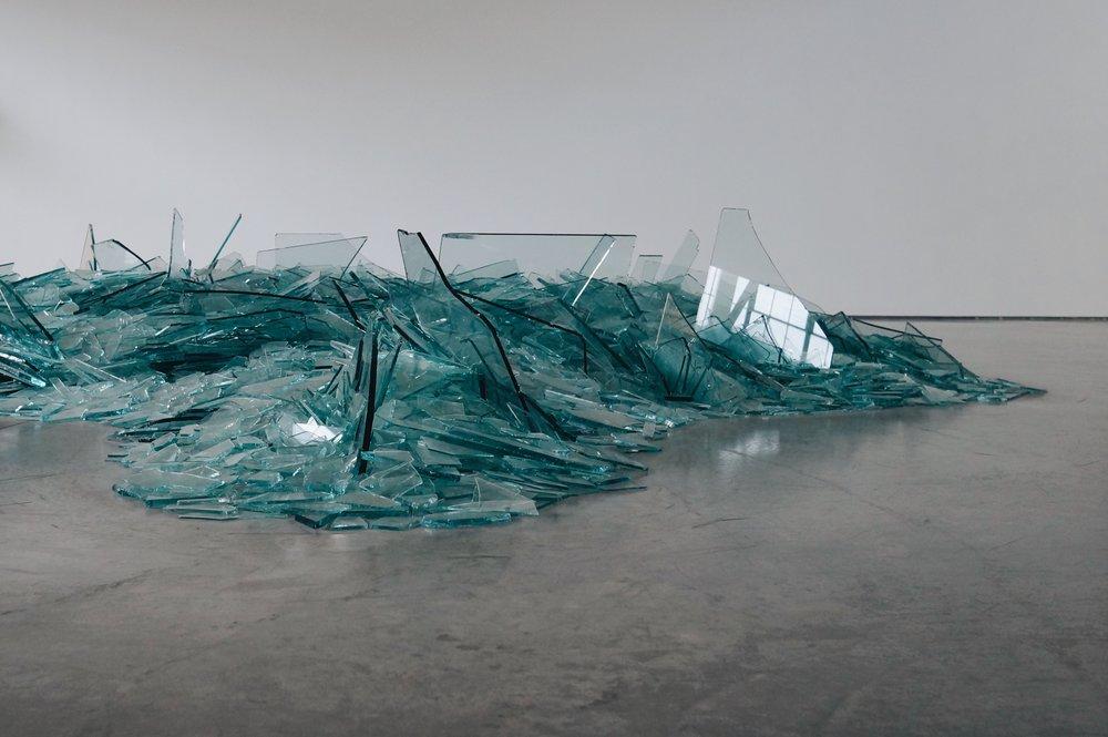Robert Smithson,  Map of Broken Glass (Atlantis)