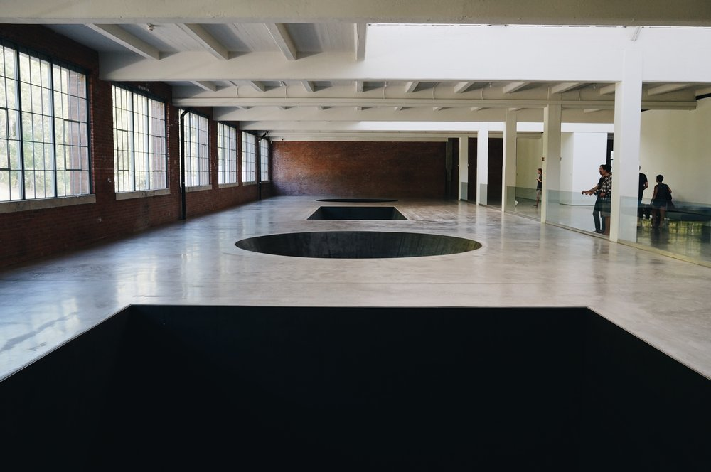 Michael Heizer's  North, East, South, West