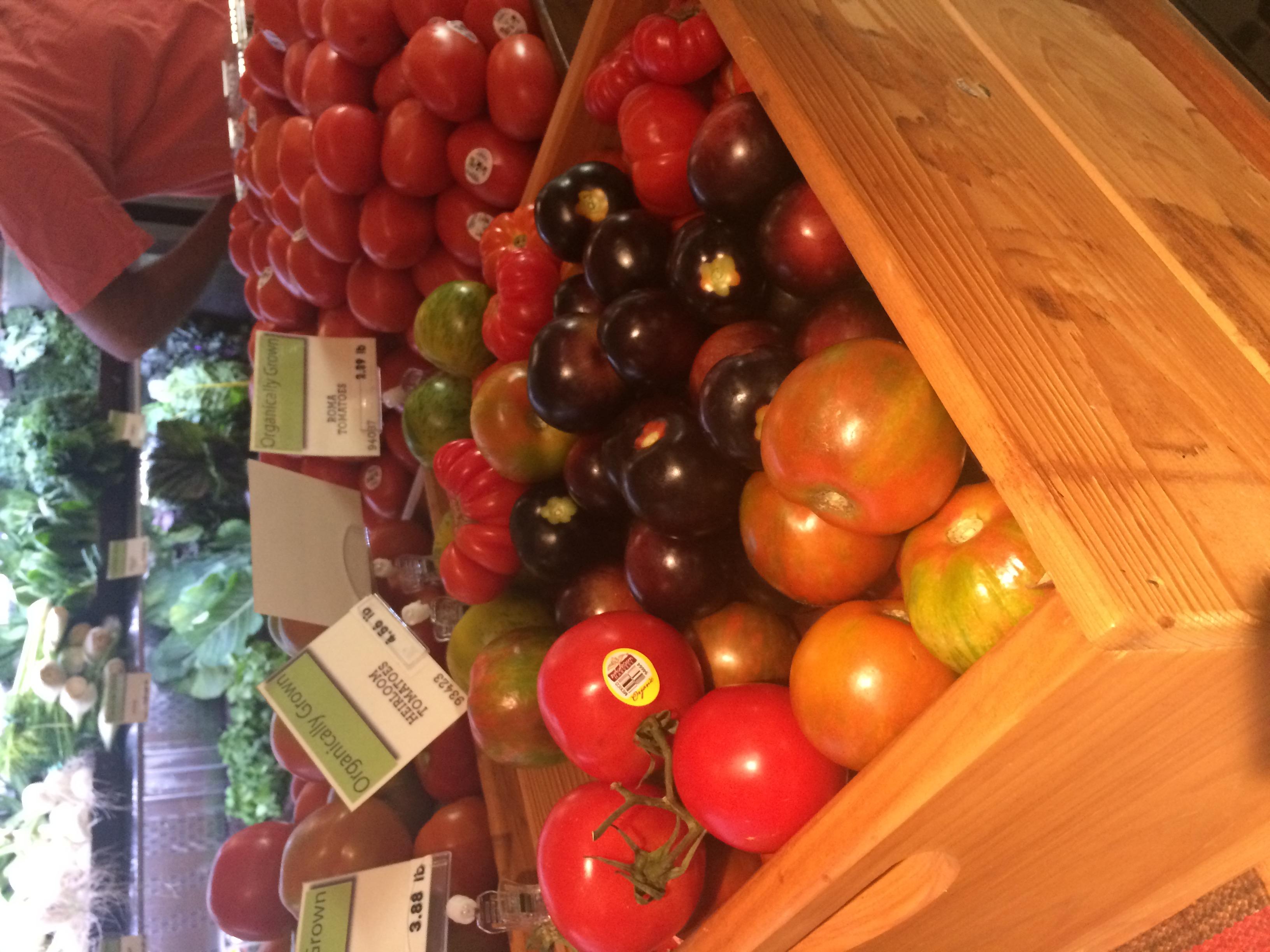 Heirloom Tomatoes  que eu adoro!