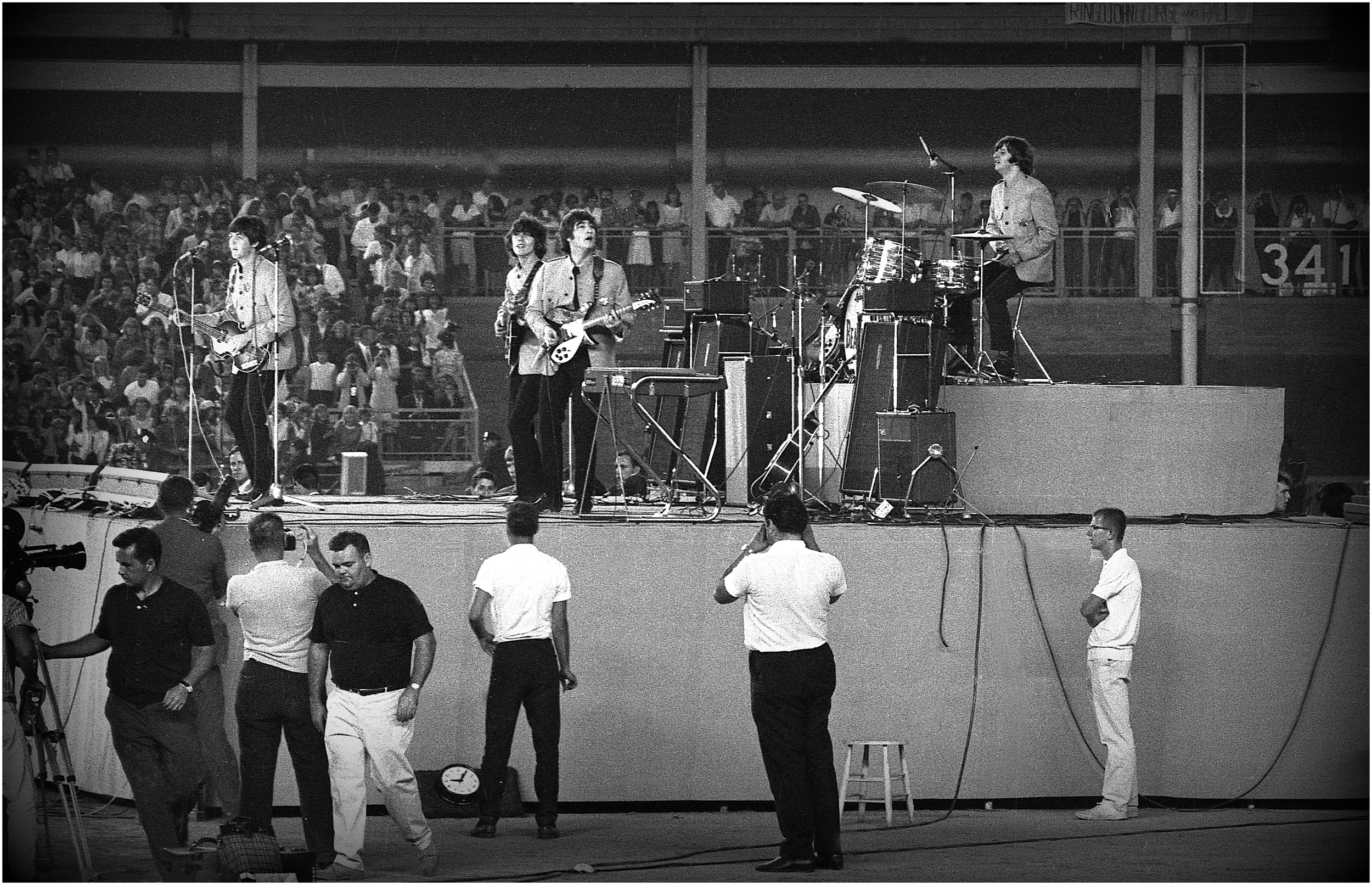 """The Beatles at Shea"" - 50 years ago!"