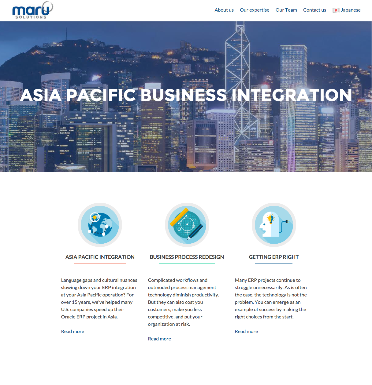 Maru Solutions   Website, Logo Design and Maintenance