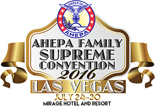Ahepa (American Hellenic Education Progressive Association) Convention  Logo and Conference Brochures