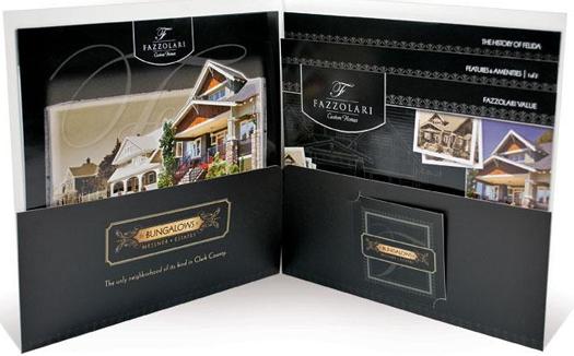 Fazzolari Presentation Folder  Company sales and marketing folder