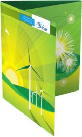 EE Tek Sales and Presentation Folder  Company sales and marketing folder