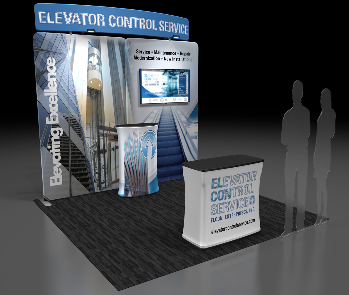 Elevator Control Service   Trade Show Booth, Conference Materials, Multimedia and Video Production