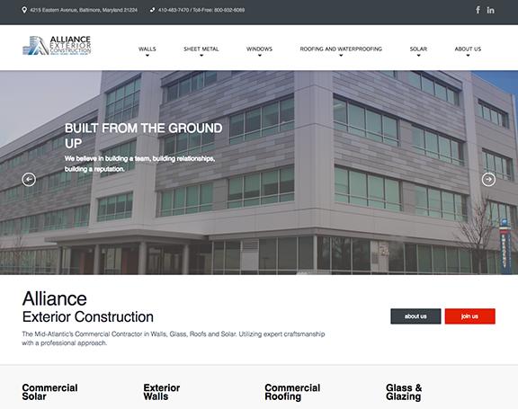 Alliance Exterior Construction