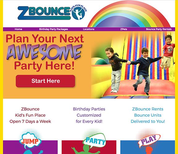 ZBounce Fun Centers