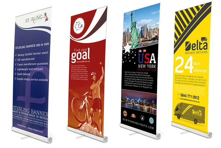 Pop Up Display Banner Design and Production