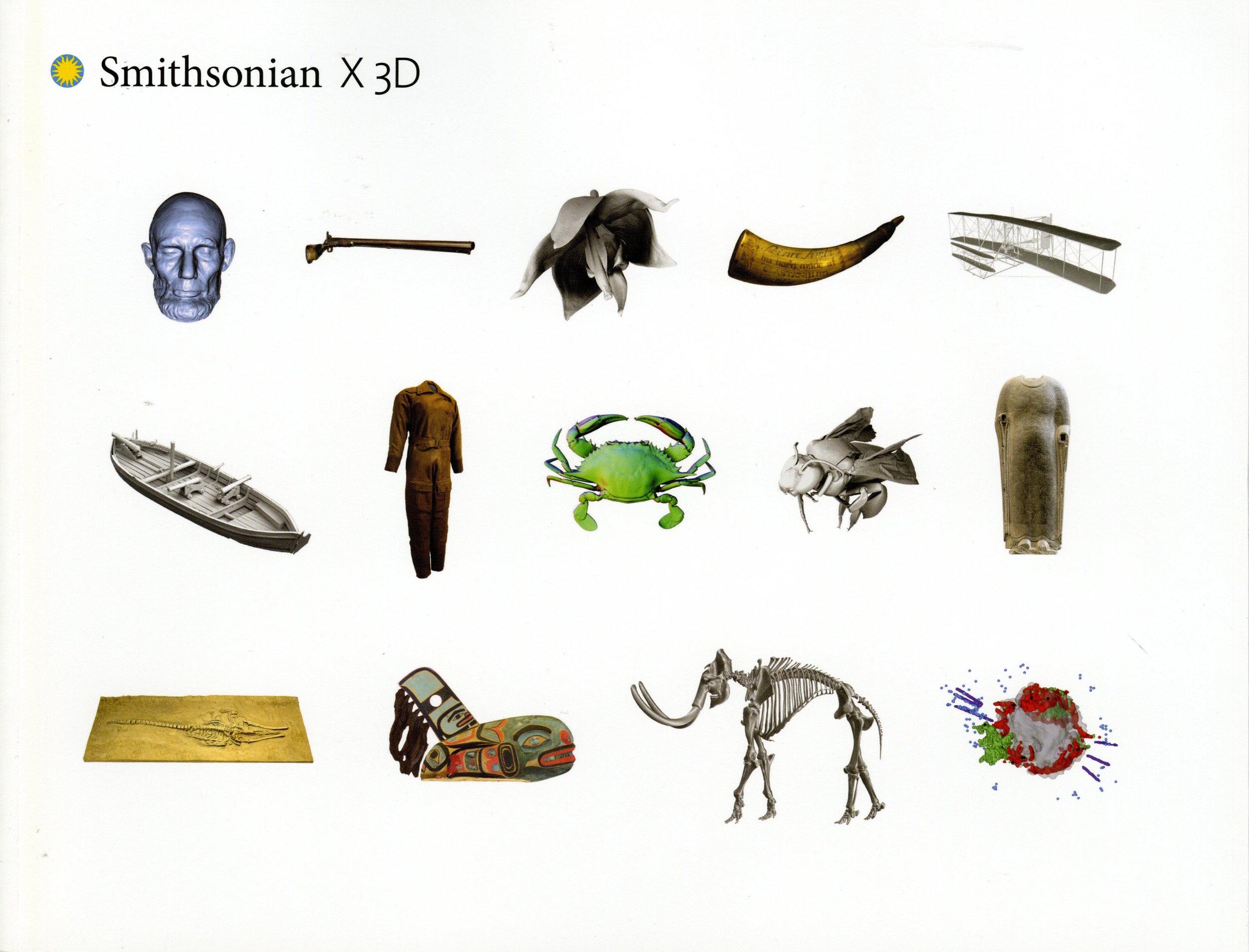 Smithsonian X 3D Book