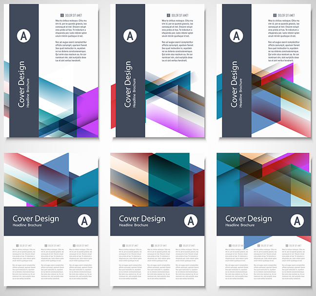 Presentation Folders Covers and Inside pages Concepts