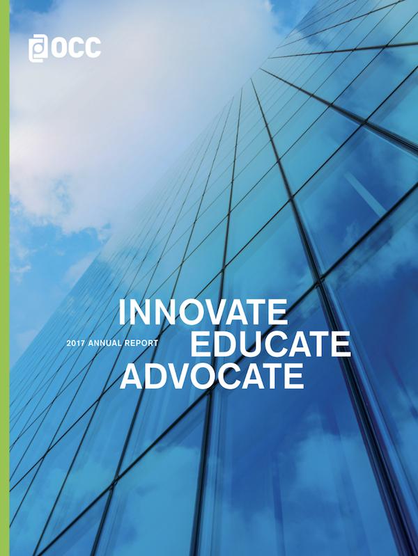 OCC Annual Report: INNOVATE