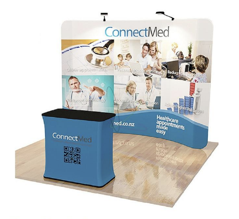 ConnectMed Trade Show Booth