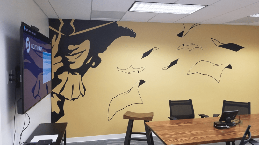 Industry Drive Wall Graphics Print and Installation: Broadway Graphics